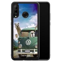 Casimoda Huawei P30 Lite hoesje - Lama adventure