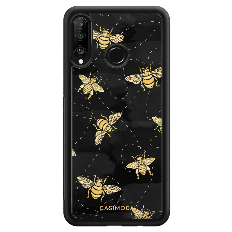 Casimoda Huawei P30 Lite hoesje - Bee yourself