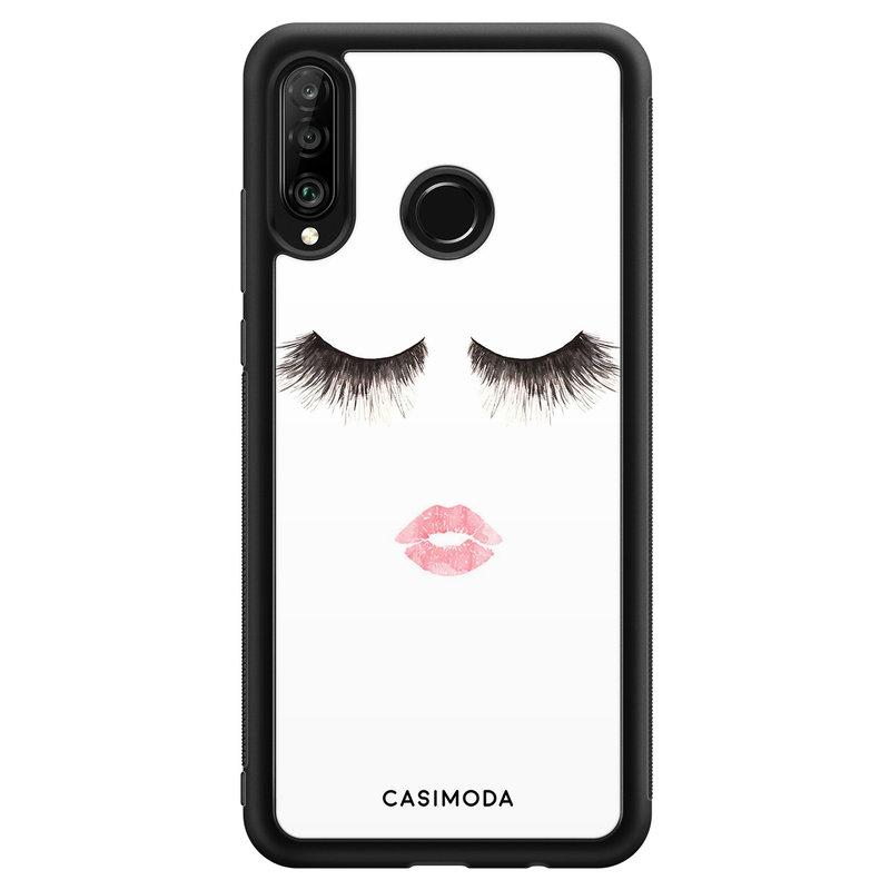 Casimoda Huawei P30 Lite hoesje - Kiss wink