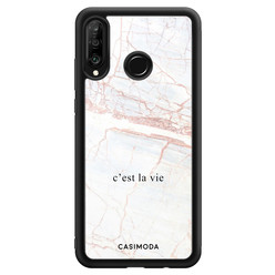 Casimoda Huawei P30 Lite hoesje - C'est la vie