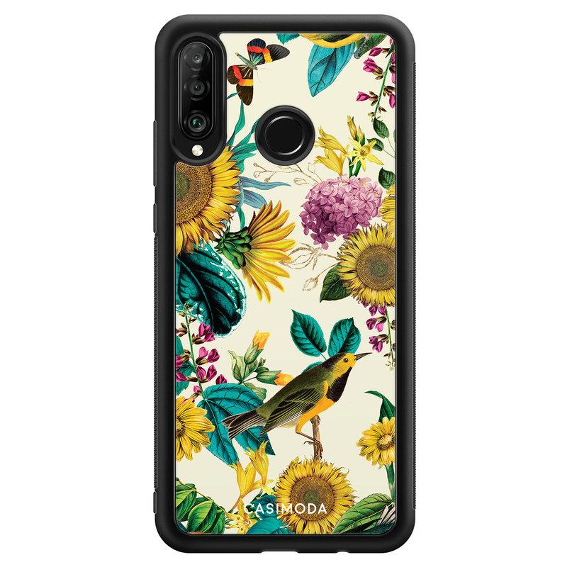 Casimoda Huawei P30 Lite hoesje - Sunflowers