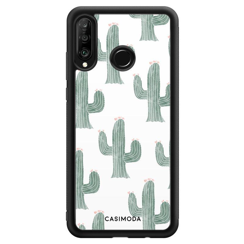 Casimoda Huawei P30 Lite hoesje - Cactus print