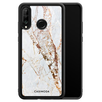 Casimoda Huawei P30 Lite hoesje - Marmer goud