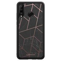 Casimoda Huawei P30 Lite hoesje - Marble grid