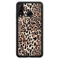 Casimoda Huawei P30 Lite hoesje - Golden wildcat
