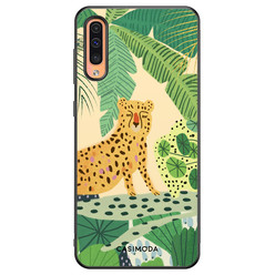 Casimoda Samsung Galaxy A50/A30s hoesje - Jungle luipaard