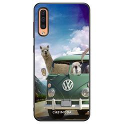 Casimoda Samsung Galaxy A50/A30s hoesje - Lama adventure