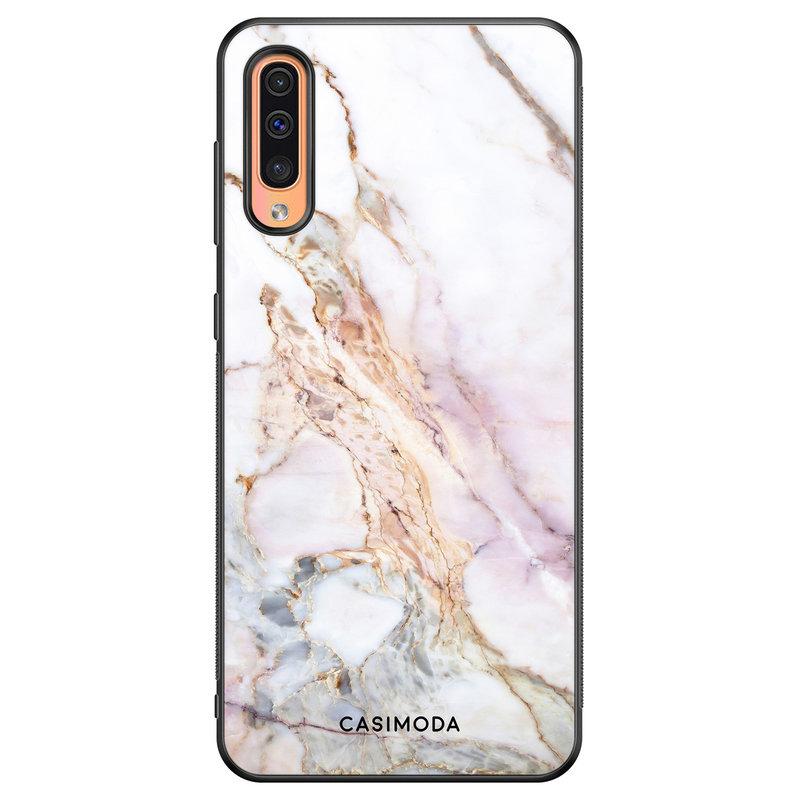 Casimoda Samsung Galaxy A50/A30s hoesje - Parelmoer marmer