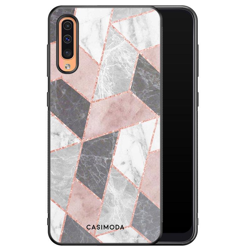 Casimoda Samsung Galaxy A50/A30s hoesje - Stone grid