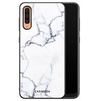Casimoda Samsung Galaxy A50/A30s hoesje - Marmer grijs