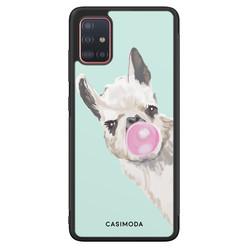 Casimoda Samsung Galaxy A51 hoesje - Retro lama