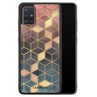 Casimoda Samsung Galaxy A51 hoesje - Cubes art