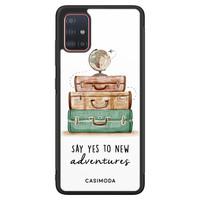 Casimoda Samsung Galaxy A51 hoesje - Wanderlust