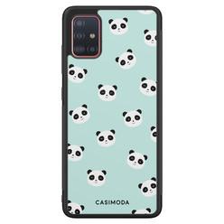 Casimoda Samsung Galaxy A51 hoesje - Panda print