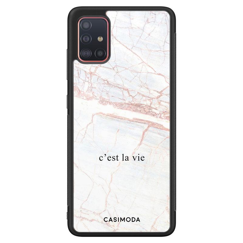 Casimoda Samsung Galaxy A51 hoesje - C'est la vie