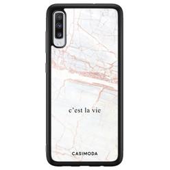 Casimoda Samsung Galaxy A70 hoesje - C'est la vie