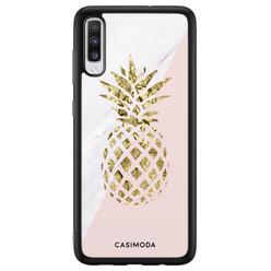 Casimoda Samsung Galaxy A70 hoesje - Ananas