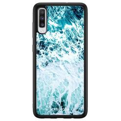 Casimoda Samsung Galaxy A70 hoesje - Oceaan