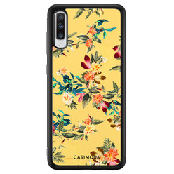 Casimoda Samsung Galaxy A70 hoesje - Florals for days