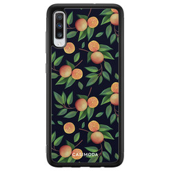 Casimoda Samsung Galaxy A70 hoesje - Orange lemonade