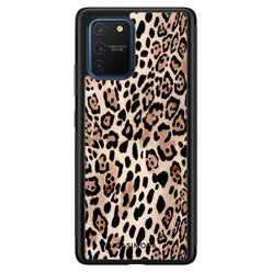 Casimoda Samsung Galaxy S10 Lite hoesje - Golden wildcat