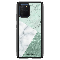 Casimoda Samsung Galaxy S10 Lite hoesje - Minty marmer collage