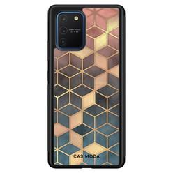 Casimoda Samsung Galaxy S10 Lite hoesje - Cubes art