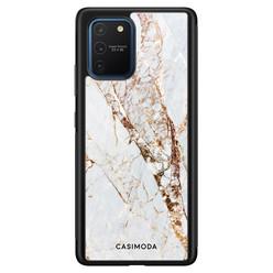 Casimoda Samsung Galaxy S10 Lite hoesje - Marmer goud