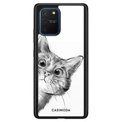 Casimoda Samsung Galaxy S10 Lite hoesje - Peekaboo
