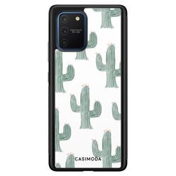Casimoda Samsung Galaxy S10 Lite hoesje - Cactus print