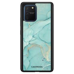 Casimoda Samsung Galaxy S10 Lite hoesje - Touch of mint