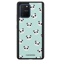 Casimoda Samsung Galaxy S10 Lite hoesje - Panda print