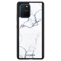 Casimoda Samsung Galaxy S10 Lite hoesje - Marmer grijs