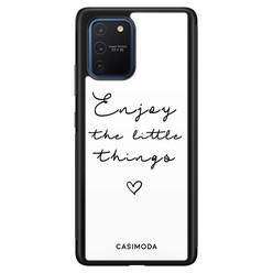 Casimoda Samsung Galaxy S10 Lite hoesje - Enjoy life