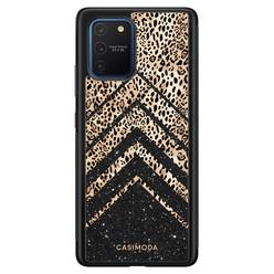 Casimoda Samsung Galaxy S10 Lite hoesje - Chevron luipaard