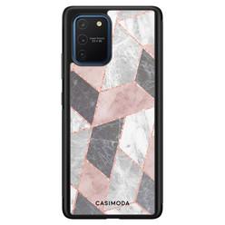 Casimoda Samsung Galaxy S10 Lite hoesje - Stone grid