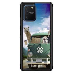 Casimoda Samsung Galaxy S10 Lite hoesje - Lama adventure