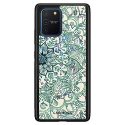 Casimoda Samsung Galaxy S10 Lite hoesje - Mandala blauw