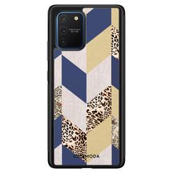 Casimoda Samsung Galaxy S10 Lite hoesje - Blue leo wild
