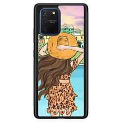 Casimoda Samsung Galaxy S10 Lite hoesje - Sunset girl