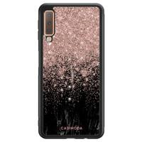 Casimoda Samsung Galaxy A7 2018 hoesje - Marmer twist