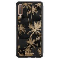 Casimoda Samsung Galaxy A7 2018 hoesje - Palmbomen