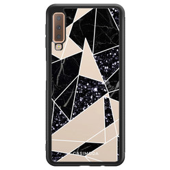 Casimoda Samsung Galaxy A7 2018 hoesje - Abstract painted