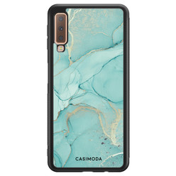 Casimoda Samsung Galaxy A7 2018 hoesje - Touch of mint