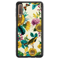 Casimoda Samsung Galaxy A7 2018 hoesje - Sunflowers