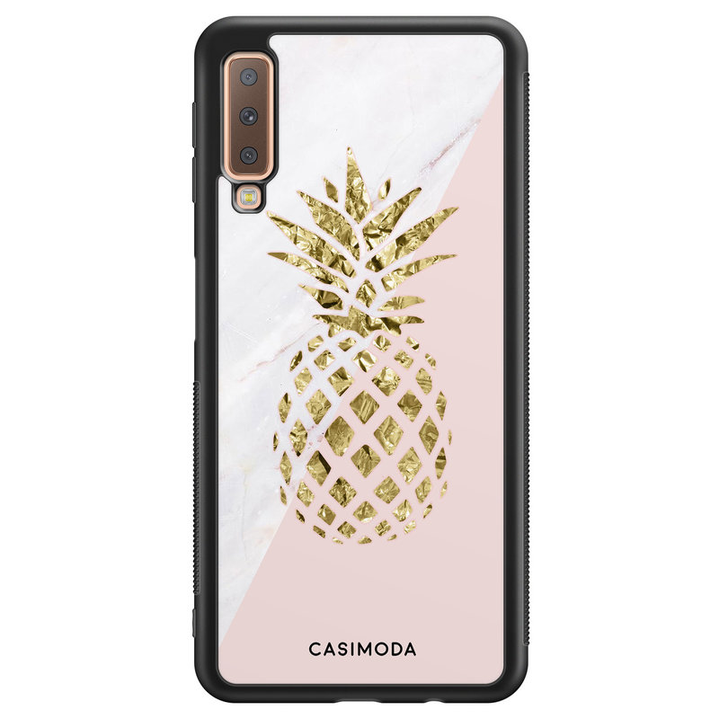 Casimoda Samsung Galaxy A7 2018 hoesje - Ananas