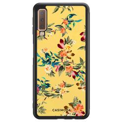 Casimoda Samsung Galaxy A7 2018 hoesje - Florals for days