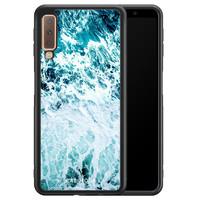 Casimoda Samsung Galaxy A7 2018 hoesje - Oceaan
