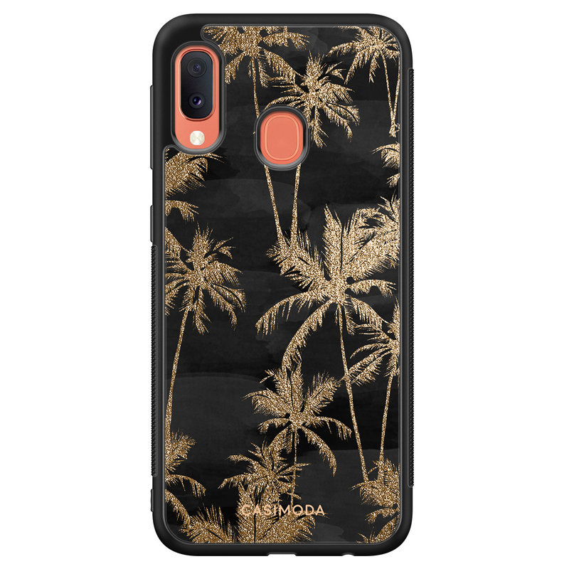 Casimoda Samsung Galaxy A20e hoesje - Palmbomen