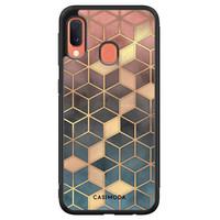 Casimoda Samsung Galaxy A20e hoesje - Cubes art